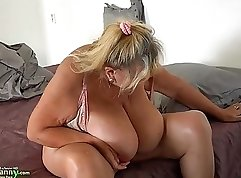 Chubby Russian Girl with big tits