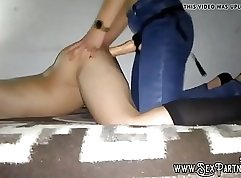 bigfanny sex video with guns and strapon