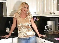 Beautiful Blonde Mature Babe Rides My Dick