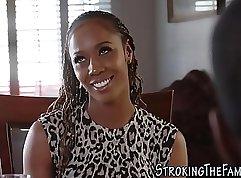 Black Petite Stepdaughter Submissive