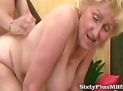 Chubby Brunette Fucked Hard Doggie Style