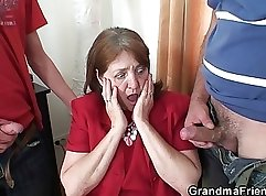 anal threesome with sweet lady is taking place in the office