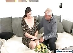 Chubby Wife From Germany ON IMG DISTRACTS HIS BEST FRIEND